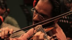 The Violin Player – a thrilling vibrato from India