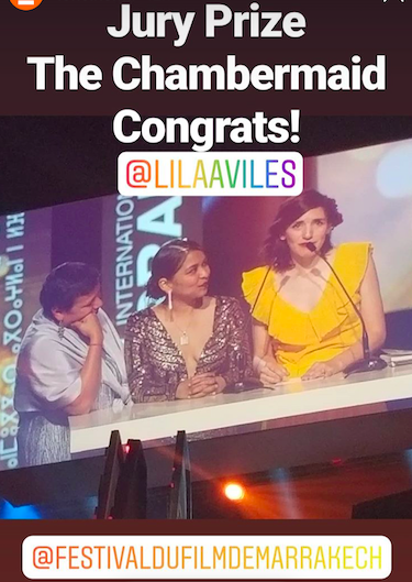 Jury Prize for Lila Avilés 1
