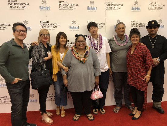 Kick off for HANALEI BAY at Hawaii IFF 1